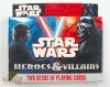 STAR WARS HEROES AND VILLAINS DOBLE