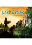 LOST CITIES BOARD GAME (USZKODZONA)