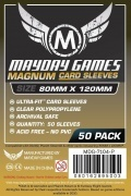 KOSZULKI MAYDAY MAGNUM BLACK CARD SLEEVES (80 x 120 mm)